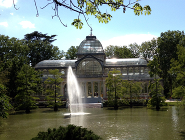 Cultural immersion discovering Retiro park in Madrid