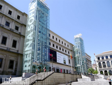 Cultural immersion discovering Reina Sofía museum in Madrid