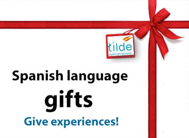 Spanish as a gift, open dated vouchers for Spanish courses in Madrid
