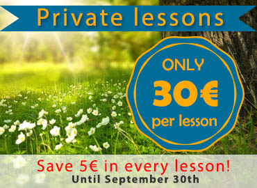 Private Spanish courses in Madrid, special offer